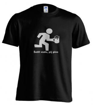 Pánské trièko - Šetøi vodu, pij pivo
