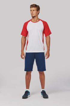 Pánské dvoubarevné sportovní trièko