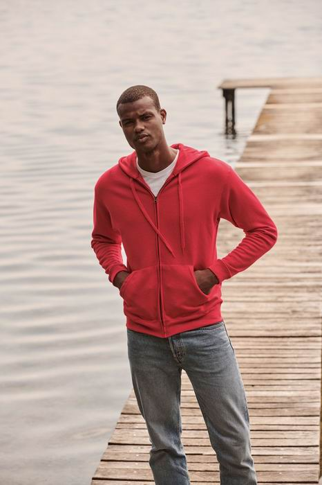 Mikina s kapucí Premium Hooded Sweat Jacket - zvìtšit obrázek