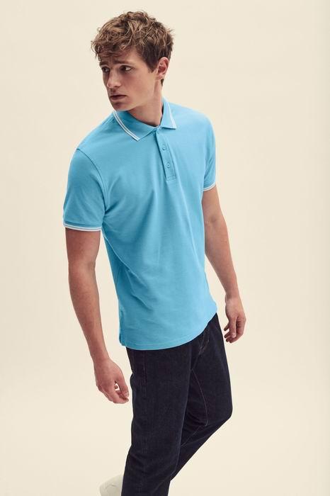 Pánská polokošile Premium Tipped Polo - Výprodej - zvìtšit obrázek