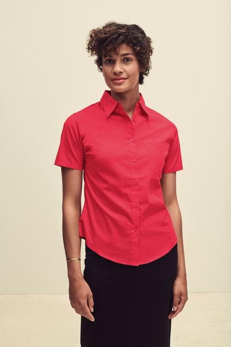 Dámská popelínová košile kr.rukáv Lady-Fit Short Sleeve Poplin Shirt - zvìtšit obrázek