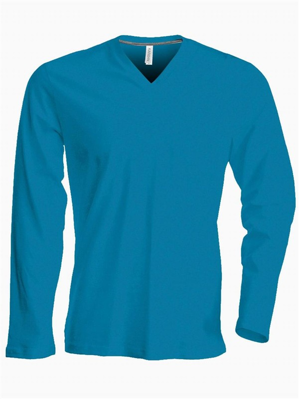 Pánské trièko dl.rukáv V-neck - Výprodej - zvìtšit obrázek