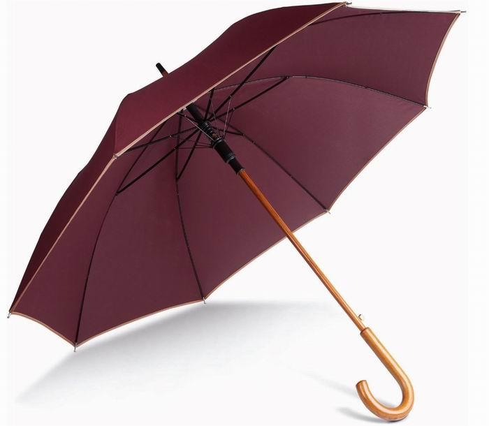 Automatický døevìný deštník - zvìtšit obrázek