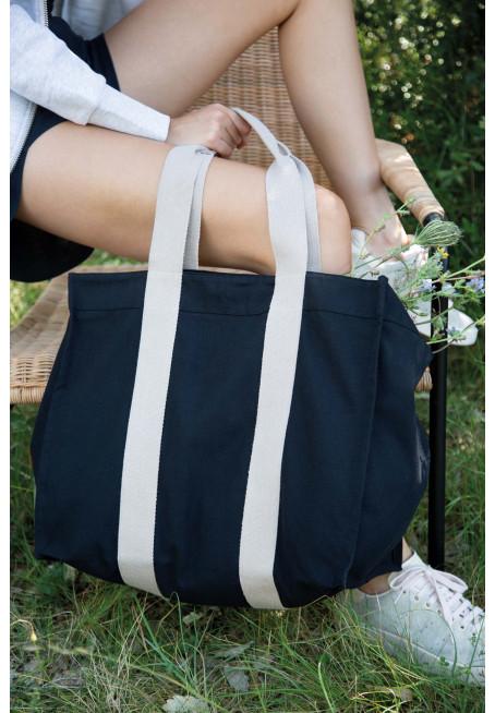 Velká recyklovaná vyztužená nákupní taška - zvìtšit obrázek