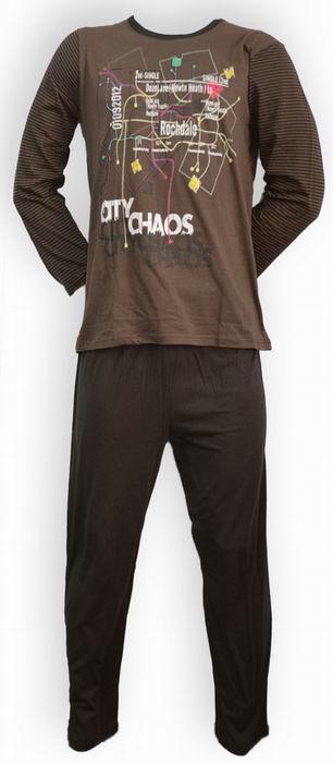 Pánské pyžamo dlouhý rukáv - zvìtšit obrázek