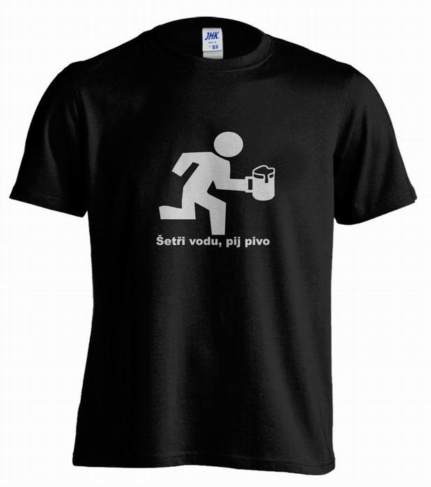 Pánské trièko s potiskem - zvìtšit obrázek