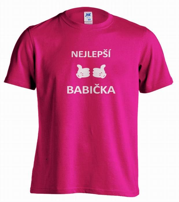 Dámské trièko - dárek pro babièku - zvìtšit obrázek