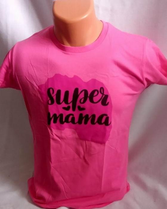 Dámské trièko - super máma - zvìtšit obrázek