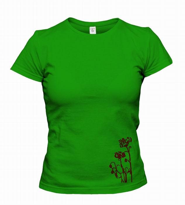 Dámské trièko s potiskem - zvìtšit obrázek