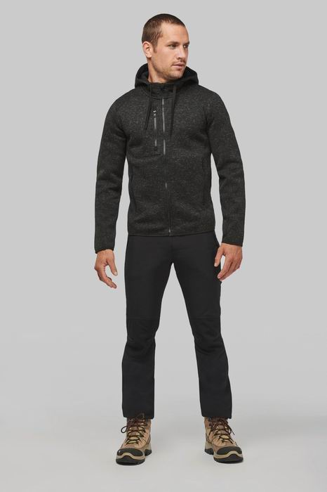 Pánská mikina s kapucí Men s heather hoodie - zvìtšit obrázek