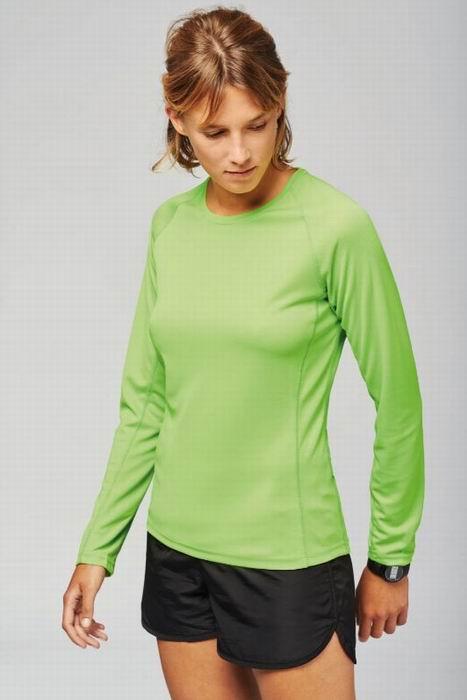 Dámské (dívèí - dorost.) sportovní trièko dlouhý rukáv - Výprodej - zvìtšit obrázek