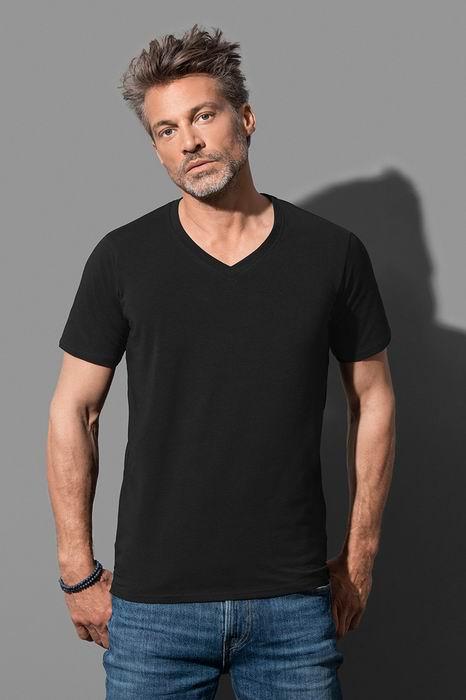 Pánské streèové trièko Dean V-neck - zvìtšit obrázek